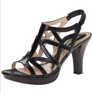 Naturalizer black Danya dress sandal